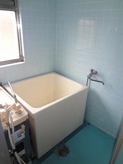 シャンプードレッサーと洗濯機置き場です