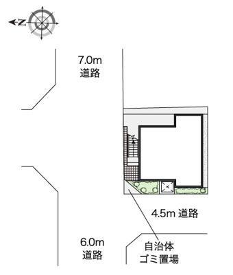 【区画図】ノースフィールド新羽
