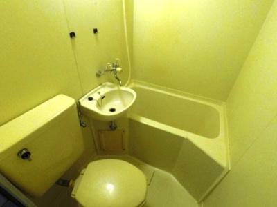 【浴室】メモリアルタウンc棟