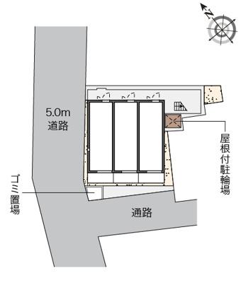 【区画図】サンピラー八幡Ⅱ