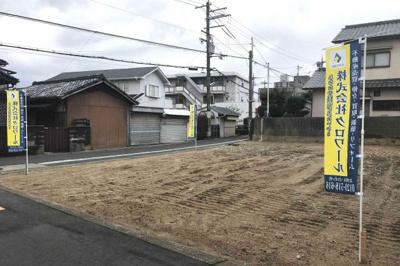 【前面道路含む現地写真】堺市東区丈六 土地