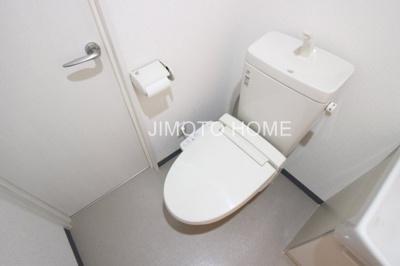 【トイレ】プリエール4F新町