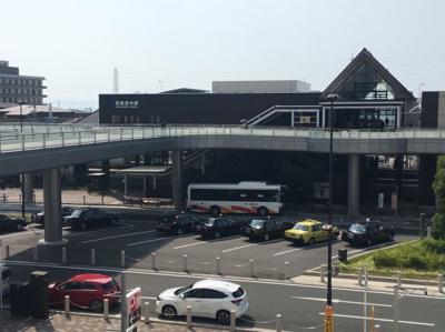 JR阪和線「和泉府中」駅がみえます