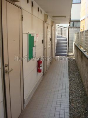 ライフピアコートの廊下☆