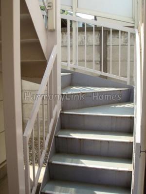 ライフピアコートの階段☆