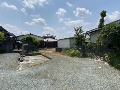 【前面道路含む現地写真】高田町北新開売地