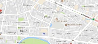 【地図】パインフェリーチェ豊玉