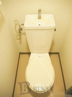 那須ハイライズのトイレです