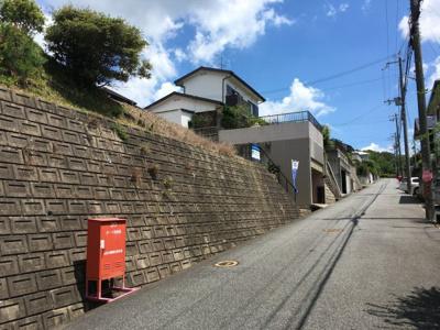 【前面道路含む現地写真】与呂木売土地