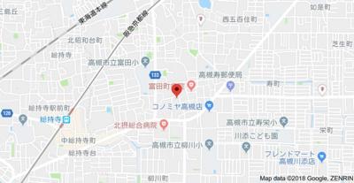 【地図】メゾンドまどころⅠ (株)Roots