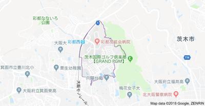 【地図】シエリア彩都