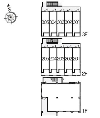 【区画図】モンロアン弘明寺