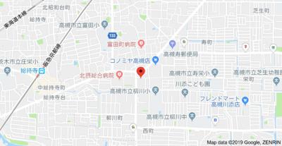 【地図】ハイツ78 株式会社Roots