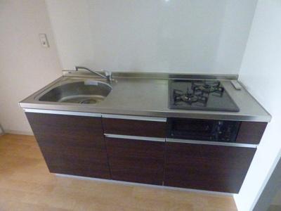 キッチン。新設です!