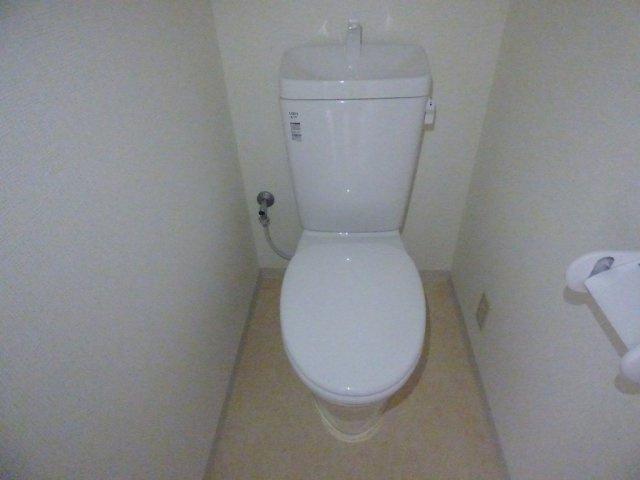 清潔感のあるトイレです。新設です!