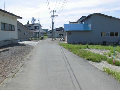【周辺】大館市外川原字前田・売地