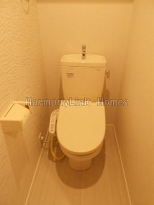 KONZ HOUSEのシンプルで使いやすいトイレです