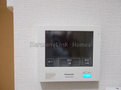 KONZ HOUSEのTV付インターホン☆