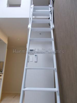 KONZ HOUSEの梯子☆