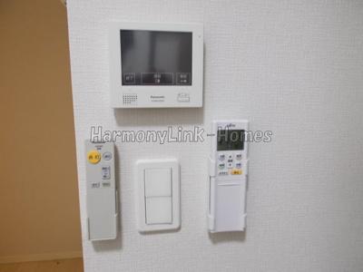 KONZ HOUSEのTV付インターホン&リモートコントロール☆
