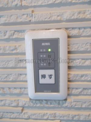 KONZ HOUSEのオートロック解除ボタン(内)☆