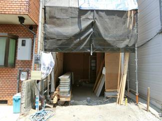 建築中です10月完成予定