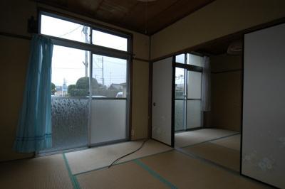 【居間・リビング】益子アパート(東)