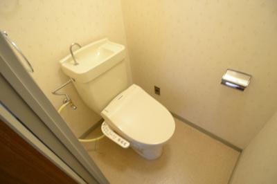 【トイレ】コーポ三協1