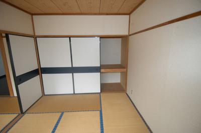 【寝室】弥平台ハイツB棟