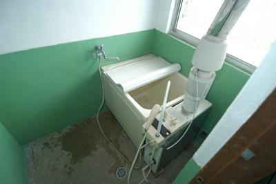 【浴室】益子アパート(西)