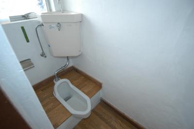 【トイレ】益子アパート(西)