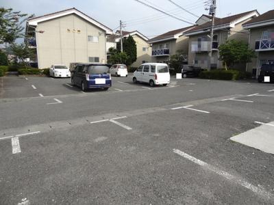 【駐車場】テクノハイム本宿 松の棟