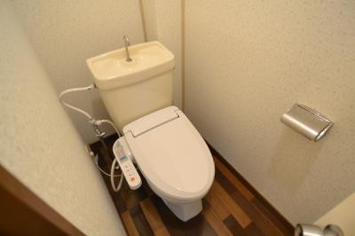【トイレ】テクノハイム本宿 桜の棟