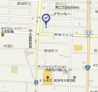 【地図】髙橋アパート