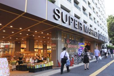 スーパーオオゼキがあるのでお買い物も楽々