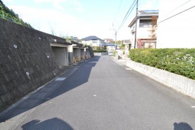 【前面道路含む現地写真】佐竹南台ニュータウン1225-165