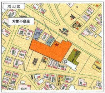 【地図】鶴ヶ峰駅17分 国道16号線沿い 工場・倉庫・事務所