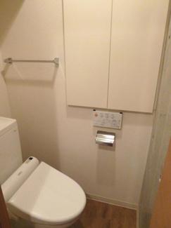 【トイレ】リッツスクエアキューブ