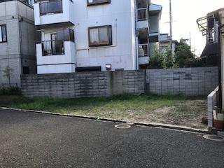【前面道路含む現地写真】寝屋川市成美町土地