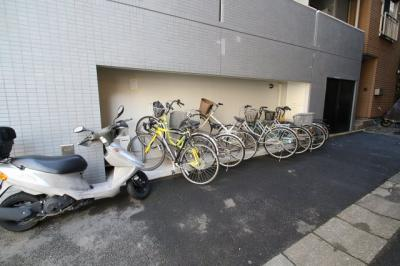 駐輪スペース City Creation茅場町