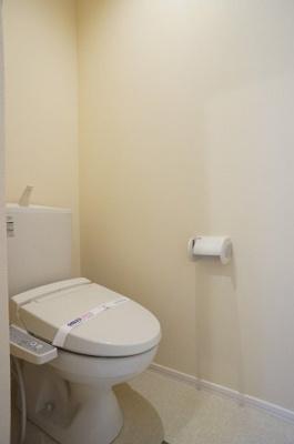 多機能便座付き洋式トイレです。