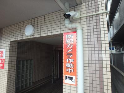 岡山市北区下中野 コンフォール 1K 外観
