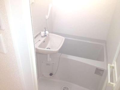 【浴室】レオパレスブランポルト