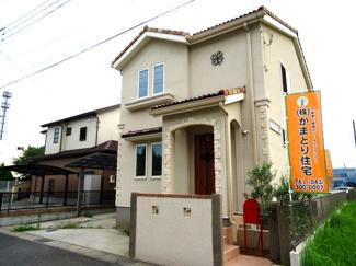 市原市ちはら台東 中古一戸建て 鎌取駅 三井ホーム施工の築浅物件です。お洒落な外観が目を引きます♪