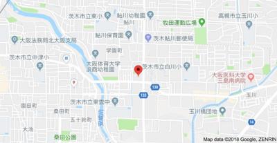 【地図】第1コーポ藤本