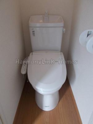 フェリスクオーレのシンプルで使いやすいトイレです☆