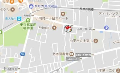 【地図】レオネクスト青梅橋(52726-104)