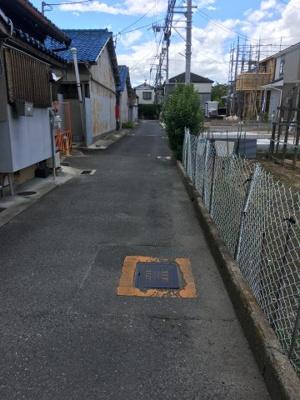 【前面道路含む現地写真】東大阪市玉串元町2丁目新築戸建