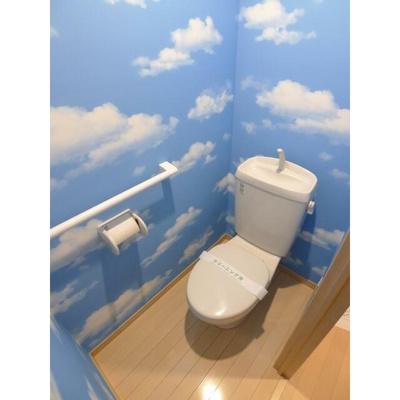 オリエンタルコート千葉中央Iのトイレ