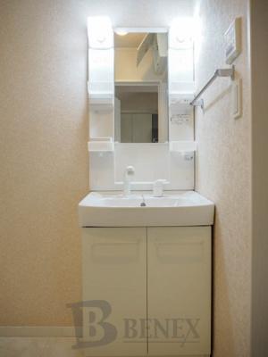 ヒルズ369の洗面所です